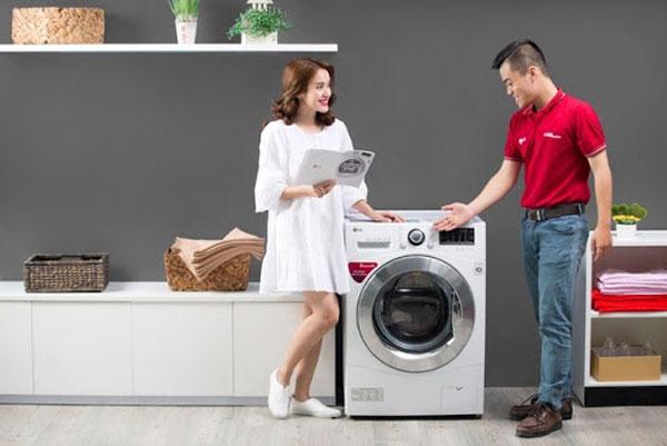 kiểm tra mua máy giặt cũ có phù hợp với nhu cầu của gia đình