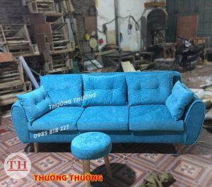 Sofa văng màu xanh