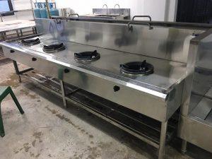 bếp á công nghiệp 4 họng