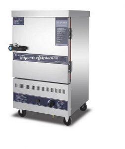 Tủ nấu cơm điện 8 khay gas