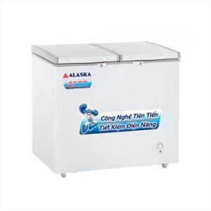 Tủ đông mát Alaska 250 lít BCD-3068N mới