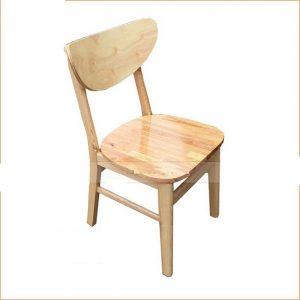 Ghế cafe gỗ TT07 mới